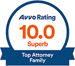 avvo top-rated family law attorney